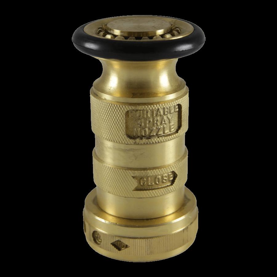 """Brass 1.5"""" Combination Nozzle"""