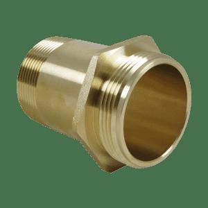 RN 2 1/2″ Brass Rack Nipple